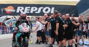 Rossi-Vinales Sampaikan Pujian Ke El Diablo Fabio Quartararo di Jerez