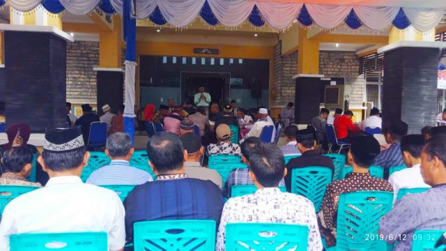 Camat Bintan Timur Halal Bi Halal Bersama RT/RW, Tokoh Agama, dan Tokoh Masyarakat Bintan Timur
